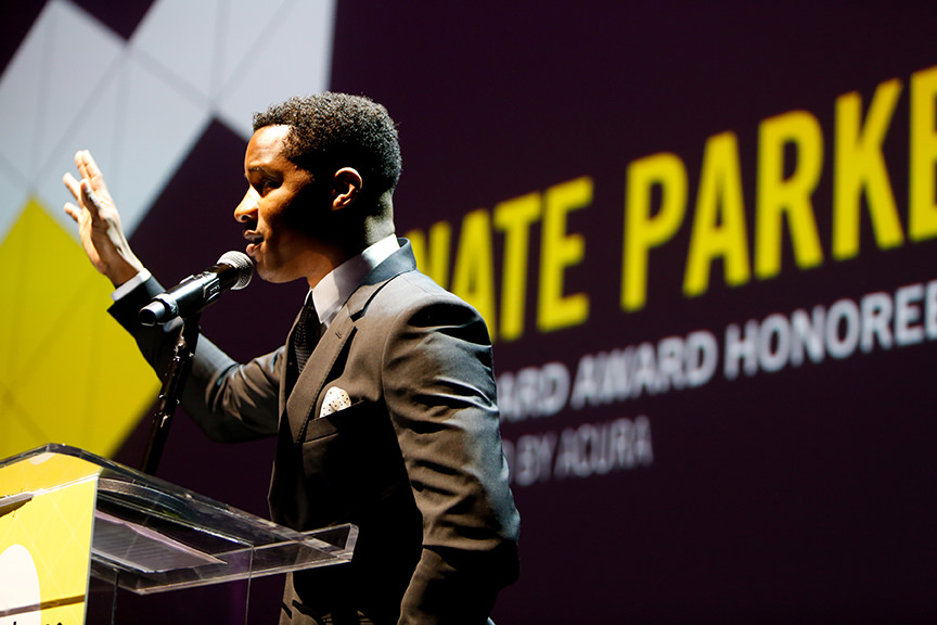 Nate Parker and The Birth of a Nation Team Announce New Fellowship for Young Filmmakers at Sundance Institute Benefit